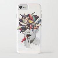 eugenia loli iPhone & iPod Cases featuring Ωmega-3 by Eugenia Loli