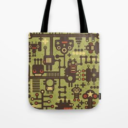 World of robots. Tote Bag