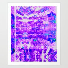 Bioluminescence 2 Art Print