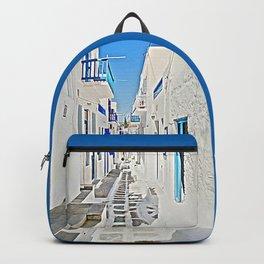 Silent of Mykonos Backpack