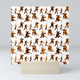 Latin Dancers Mini Art Print