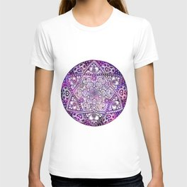 Zen Purple Mandala T-shirt