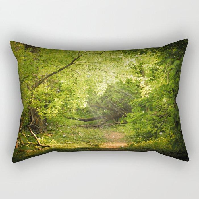 The Secret Path Rectangular Pillow