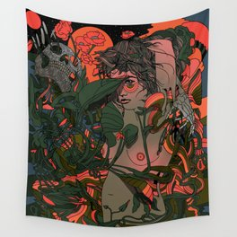When All Things Ripen Wall Tapestry