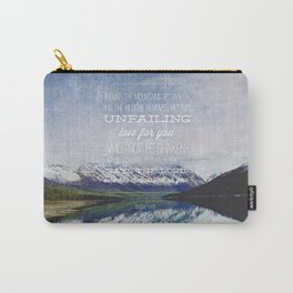 Isaiah 54:10 Carry-All Pouch