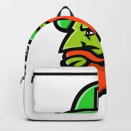 Leprechaun Head Mascot Backpack
