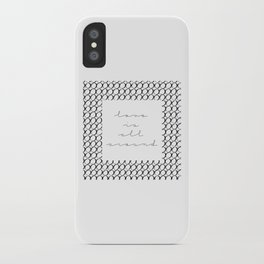 love is all around iPhone Case