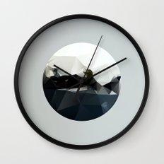 Island at Sea Wall Clock