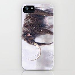 Mammuthus Primigenius Finished iPhone Case