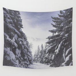 It's gonna clear up - Landscape and Nature Photography Wall Tapestry