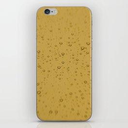 Champagne Fizz Bubble Explosion iPhone Skin