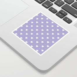 Diamonds - purple pattern Sticker