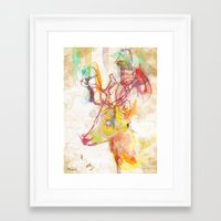 archan nair Framed Art Prints featuring Maritza by Archan Nair