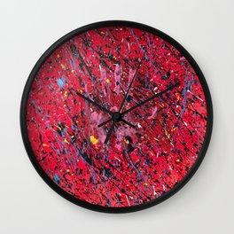 Emotion on Canvas, 2016 Wall Clock