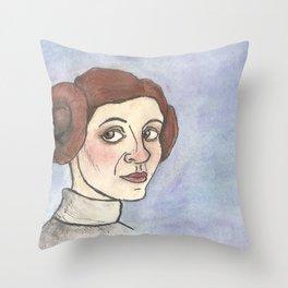Space Princess Throw Pillow