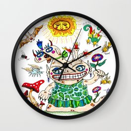 She-Beast and Friends Wall Clock