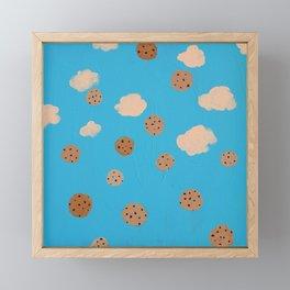 Sky Cookies Framed Mini Art Print