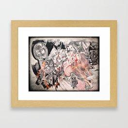 Graffiti AF Framed Art Print