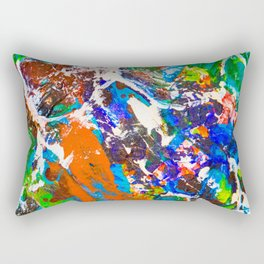 Neurons and Synapse in the Mind. Make a Memory Rectangular Pillow