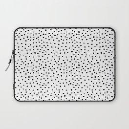 Brush Dots Laptop Sleeve