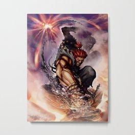 Akuma - Street Fighter Metal Print