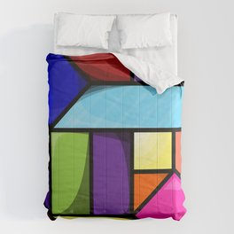 Impossible Cube Comforters