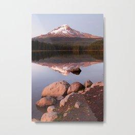 Mt Hood. Metal Print