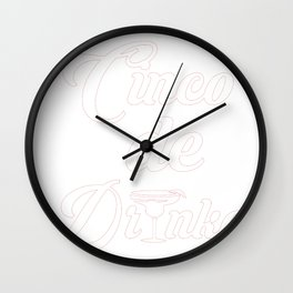 Cinco De Mayo Cinco De Drinko Wall Clock