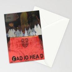 Radiohead 20 Stationery Cards