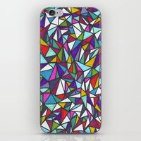 sparkle iPhone & iPod Skins featuring Sparkle by Erin Jordan