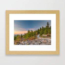 Spruce Knob Twilight Trail Framed Art Print