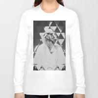 kaleidoscope Long Sleeve T-shirts featuring Kaleidoscope by Mrs Araneae