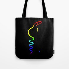 Gay Dancing Cobra Tote Bag