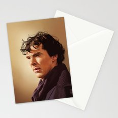 Against the rest of the world - Sherlock Stationery Cards