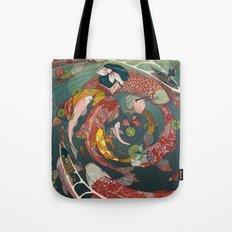 Ukiyo-e tale: The creative circle Tote Bag