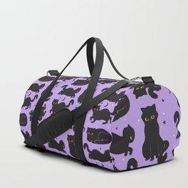 Little Black Cats Duffle Bag