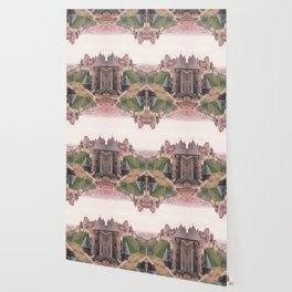 Chateau Photographic Pattern #1 Wallpaper
