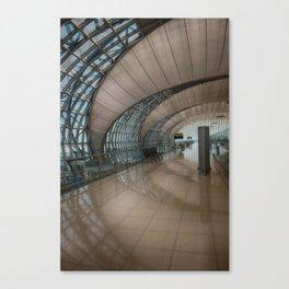 concave lines #1 Canvas Print