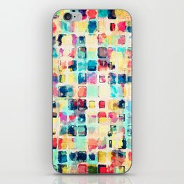 Painted Boxes iPhone Skin