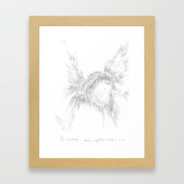 The Animals - weird, unpolished and ugly as we are #1 Framed Art Print