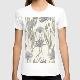 vintage cornflowers T-shirt