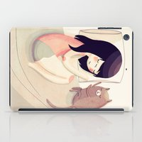 friends iPad Cases featuring Best Friends by Nan Lawson