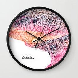 _LA LA LA Wall Clock