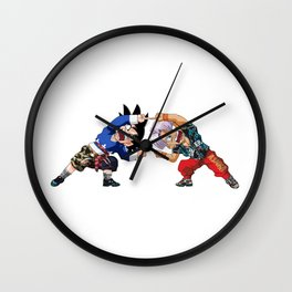 fusion goten and trunks Wall Clock