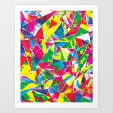 Rave Paint Art Print