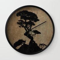 safari Wall Clocks featuring Safari by Last Call