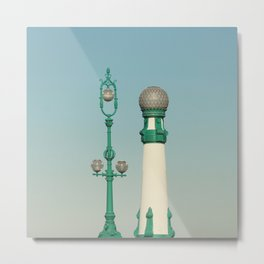 Kursaal Bridge No.2 Metal Print