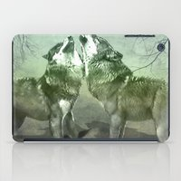wolves iPad Cases featuring Wolves by YM_Art by Yv✿n / aka Yanieck Mariani