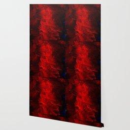 Red Abstract Paint | Corbin Henry Artist Wallpaper