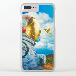 Hello There Clear iPhone Case